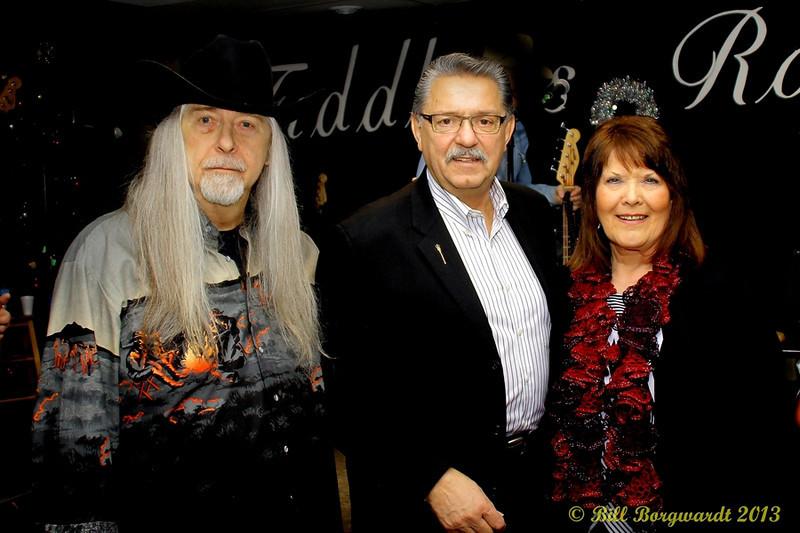 Norm Sliter, Gene Zwozdesky, Joyce Smith - Fiddlers Roost Xmas Party 2013 111.jpg