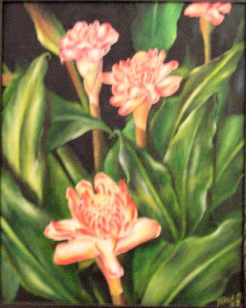 Rosas de Porcelana a Oleo Teresa Mendes