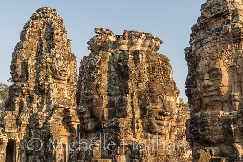 Bayon Temple, Angkor Park, Siem Reap, Cambodia