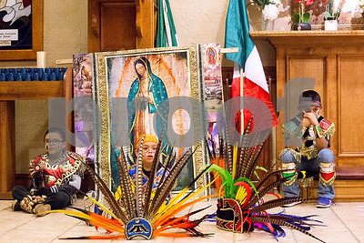 12/12/17 Día de la Virgen de Guadalupe Feast Day and Mass by Chelsea Purgahn