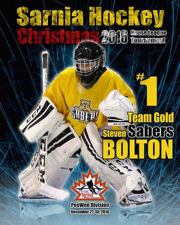 December 27-30, 2016 Sarnia Hockey Christmas Tournament