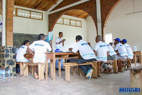 MIHARI photos of leadership training, Madagascar