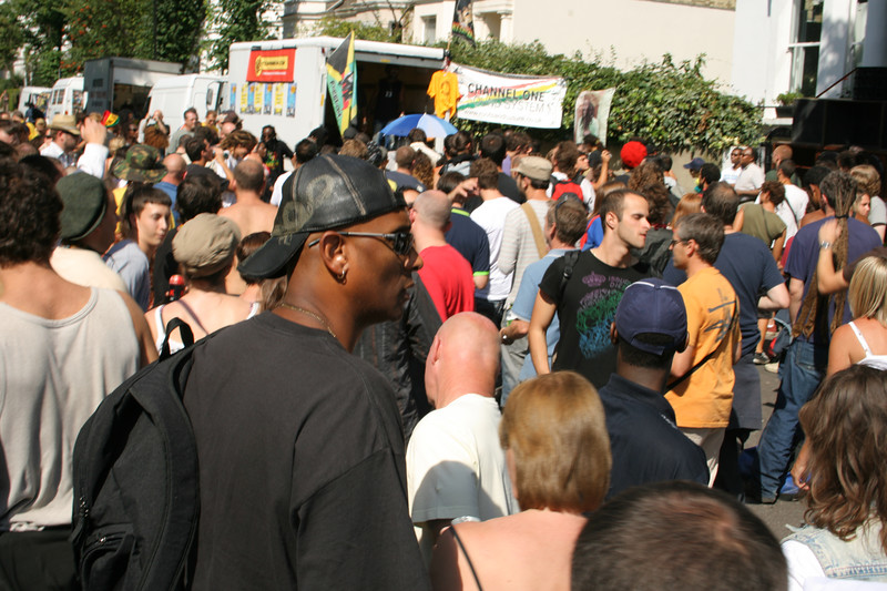 Crowds at Notting Hill Carnival