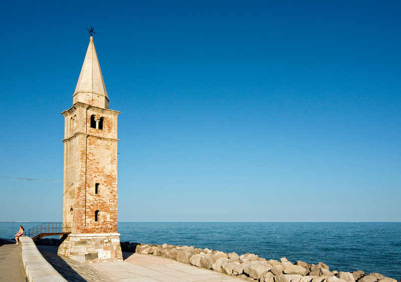 Belfry of Church of Madonna dell'Angelo, Caorle, Italy