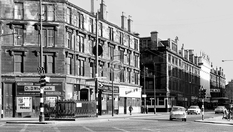 Gorbals St at the Cross. 
