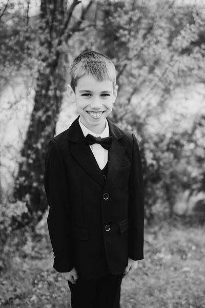 Grant's First Communion