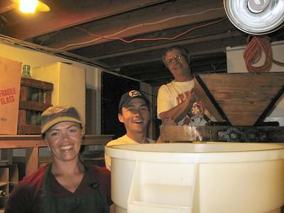 La Casa Di Domenico Wine Making 2003 September