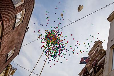 Pingpongballen actie Deventer 1250