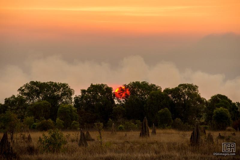Sunset at the Wildman Wilderness Lodge