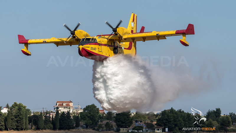 Hellenic Air Force / Canadair CL-415 / 2047