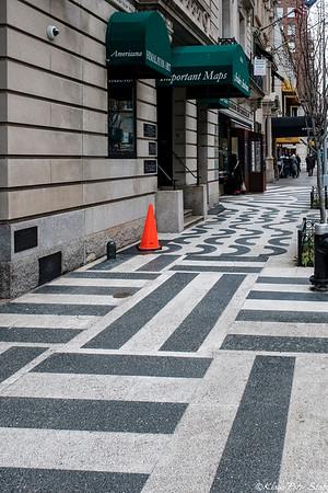 2021 Alexander Calder Modernist Sidewalk