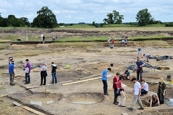 "Oxford Experience ""Introduction to Archaeology"" class 2012"