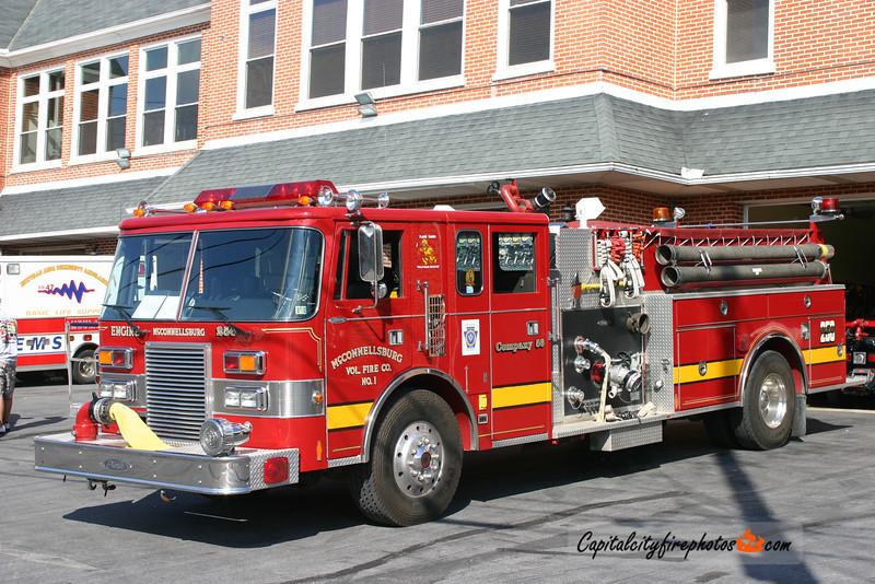 McConnellsburg (Fulton Co.) Engine 2-56: 1991 Pierce 1250/1000
