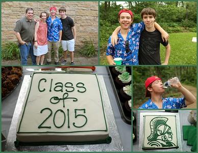 Adam Ramer Celebrates Graduation 2015
