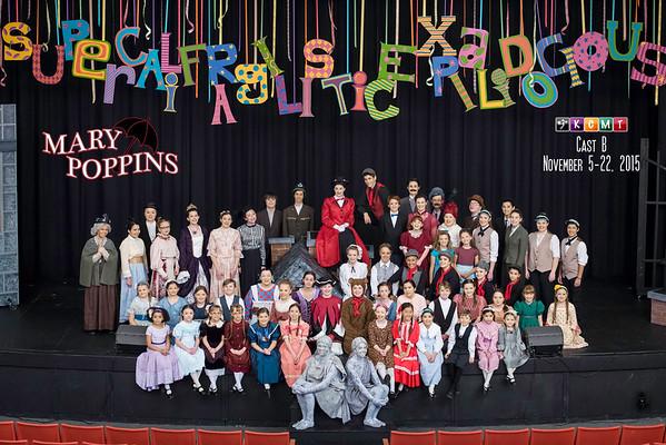 Mary Poppins Cast Photos