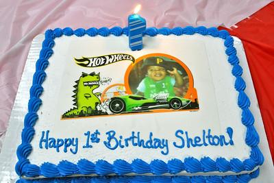Shelton's 1st Birthday Celebration Photos