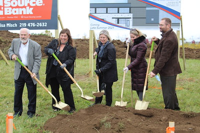 Groundbreaking for Chester, Inc. and NWI Eye Laser Center 2020