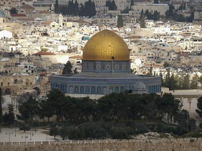 Tuesday: Jerusalem, Mt of Olives, Herodian Mt, Garden of Gethsemane, Church of All Nations,
