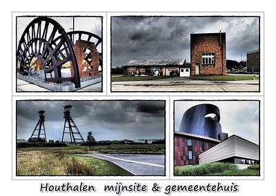 Houthalen: mijnsite & gemeentehuis