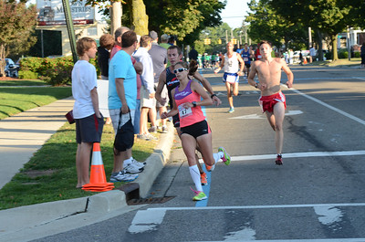 10 Mile at 2 mile mark - 2013 HealthPlus Crim Festival of Races