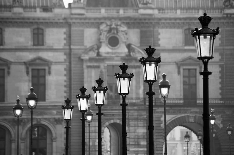 Paris Lamp Posts