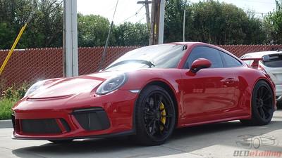 2018 Porsche GT3 - Carmine Red