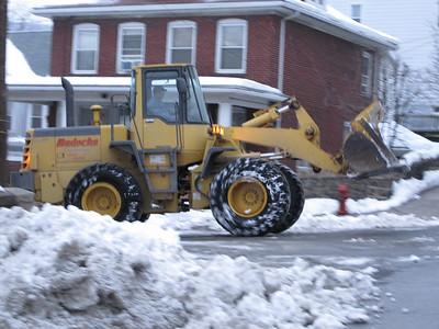 Tamaqua Snow Removal, Trucks (2-15-2010)