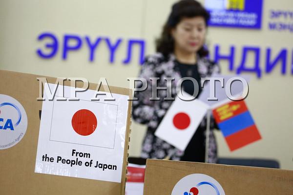 Японы олон улсын хамтын ажиллагаанны байгууллага Жайкагаас хувийн хамгаалах хэрэгсэл ЭМЯ-нд гардууллаа