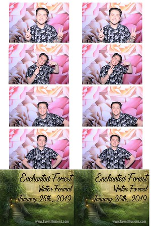HLTA _ Enchanted Forest Winter Formal 2019