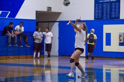 09-07-12 JV Volleyball at Valley