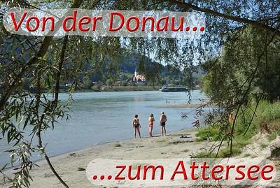 Von der Donau zum Attersee