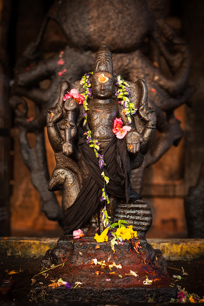 Murugan image. Brihadishwara Temple, Tanjore
