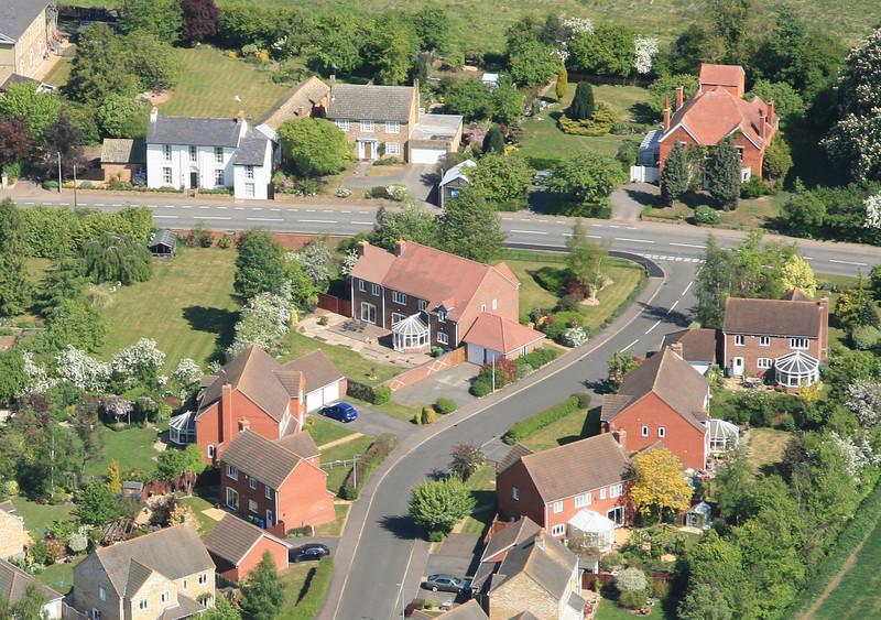 May 2011 Aerial photo of Spaldwick_5684320982_o.jpg