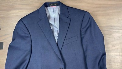 Mens Wardrobe Blue Jacket