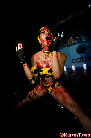 Sept 2010 - Decadence - Wax Performance by Miss Blue