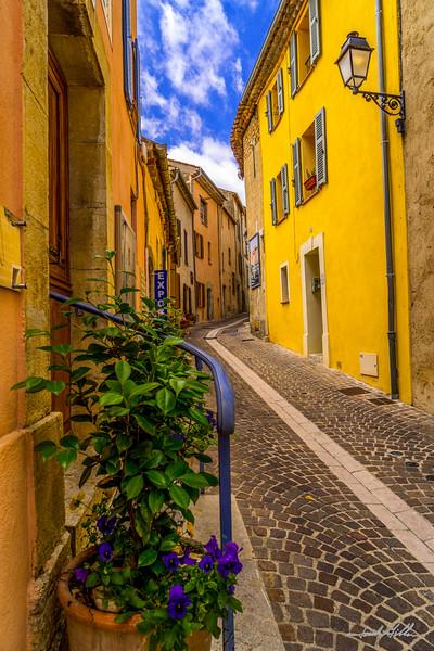 Street in Fayence