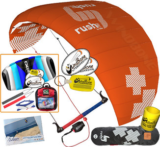 HQ4 HQ Rush Pro V Kiteboarding Trainer Kite 3 Line