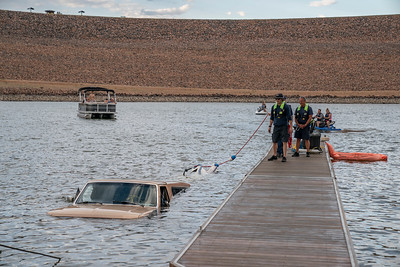 Chatfield Submerged Vehicle