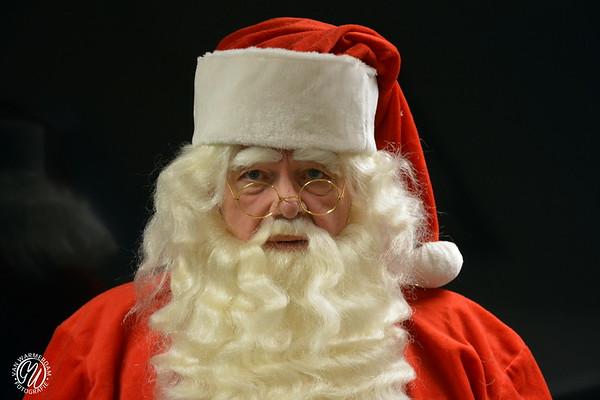 Kerstman in Dorpsstraat Zoetermeer