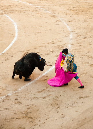 Bullfighting, Madrid, Spain
