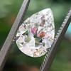 2.01ct Antique Pear Shape Diamond GIA G VS1 34