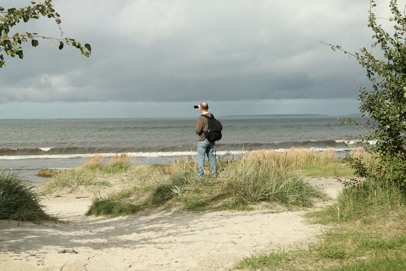 Looking out into the Gulf of Finland -Tallinn, Estonia