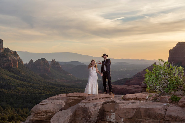 Sara & Eric's Sedona Wedding