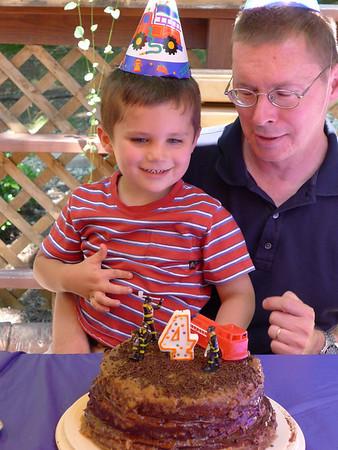 Luke's 4th Birthday Party