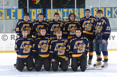 01-11-09 Hockey Sandburg Sr Night vs LWE