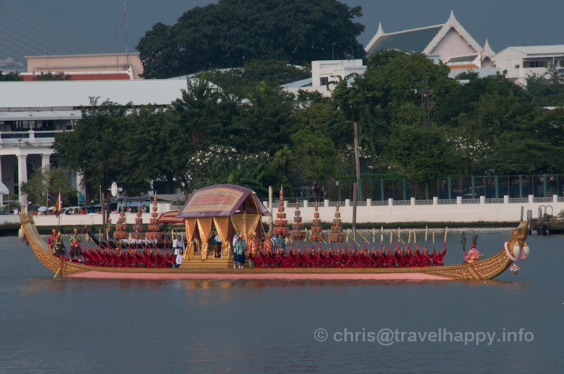 Royal Barges Procession, Bangkok, Thailand 6 November 2012