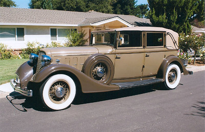1934 Lincoln Semi Collapsible Cabriolet