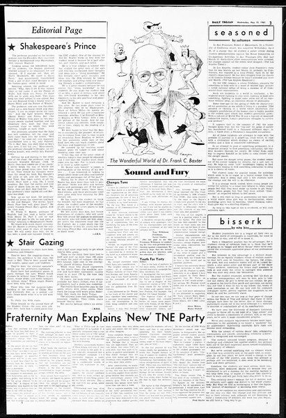Daily Trojan, Vol. 52, No. 122, May 10, 1961