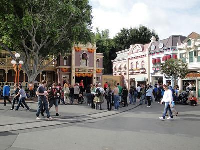 Disneyland at Halloween, 2010