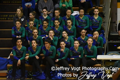 12-17-2016 Churchill HS Poms at Seneca Valley HS Poms Exhibition, Photos by Jeffrey Vogt Photography